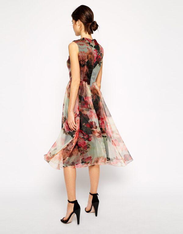 Woo Colorful Dress