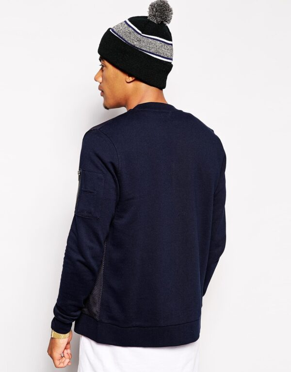 Mens Bomber In Jersey